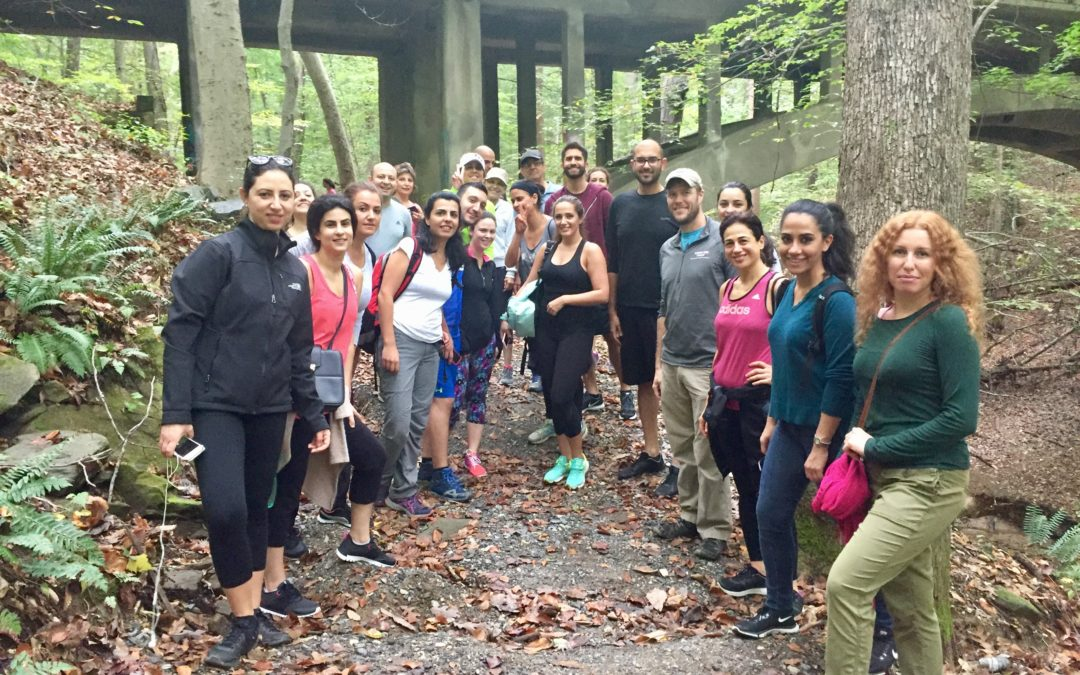 The AFLMT-WAAUB Greater DC chapter joint hiking event